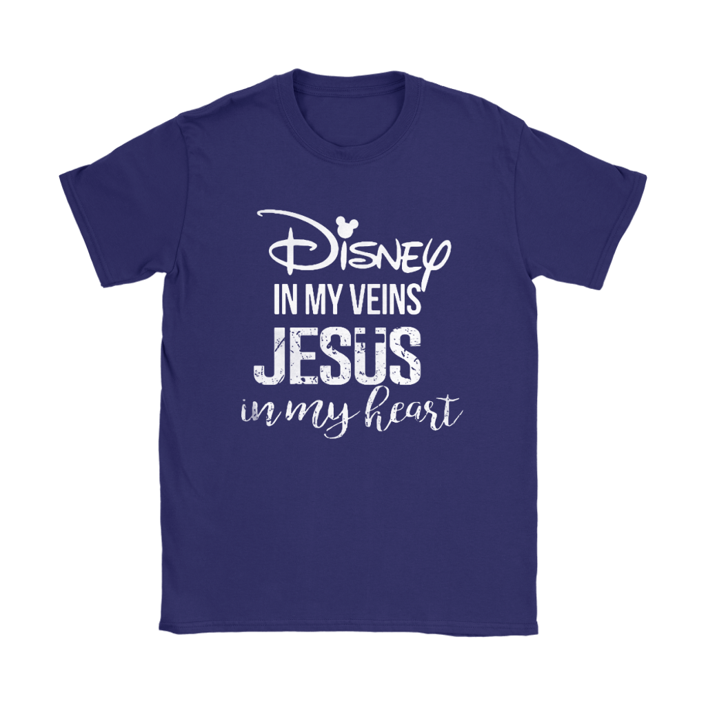 Disney In My Veins Jesus In My Hearts Shirts 12