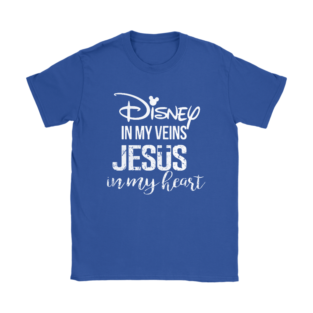 Disney In My Veins Jesus In My Hearts Shirts 27