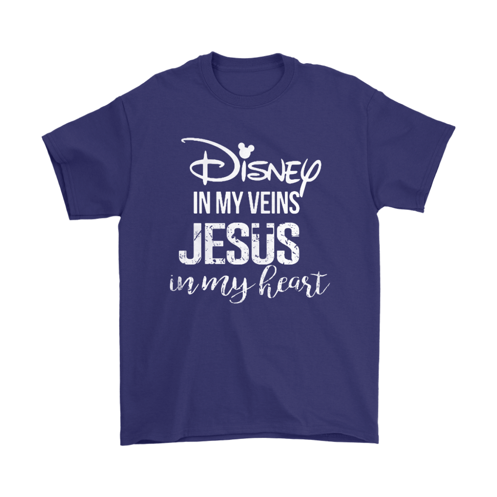 Disney In My Veins Jesus In My Hearts Shirts 4