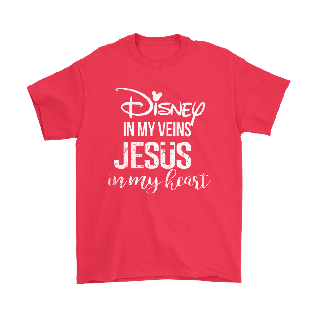 Disney In My Veins Jesus In My Hearts Shirts 18
