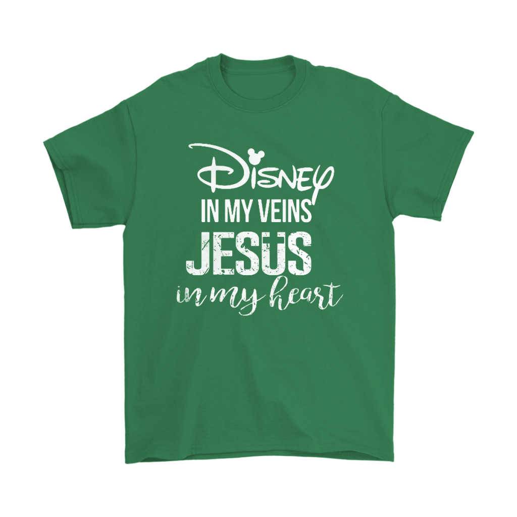 Disney In My Veins Jesus In My Hearts Shirts 7