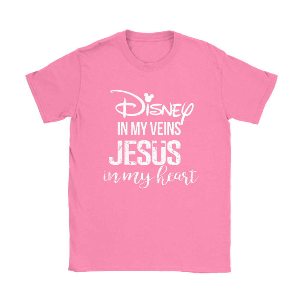 Disney In My Veins Jesus In My Hearts Shirts 22