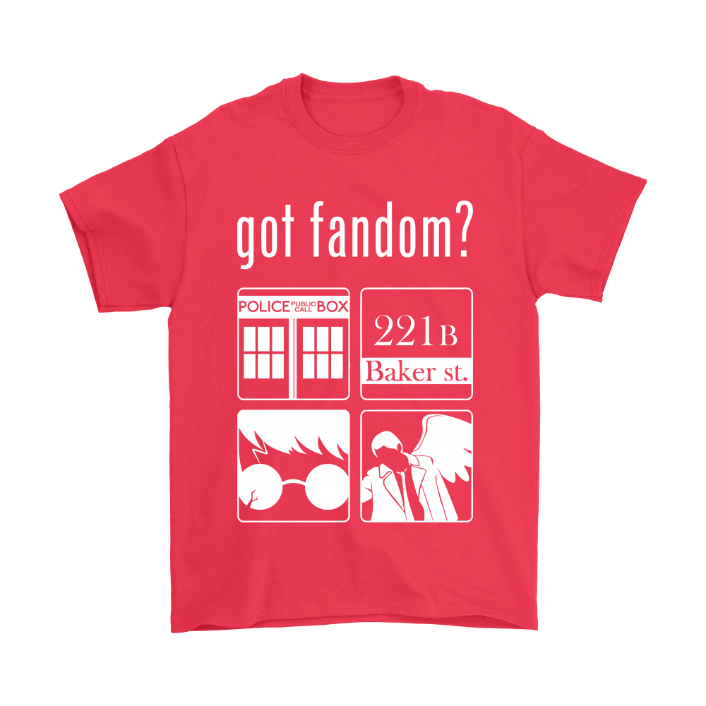 Doctor Who, Sherlock, Harry Potter And Supernatural Got Fandom Shirts 5
