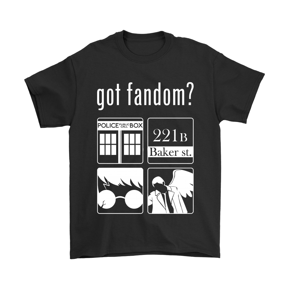 Doctor Who, Sherlock, Harry Potter And Supernatural Got Fandom Shirts 1
