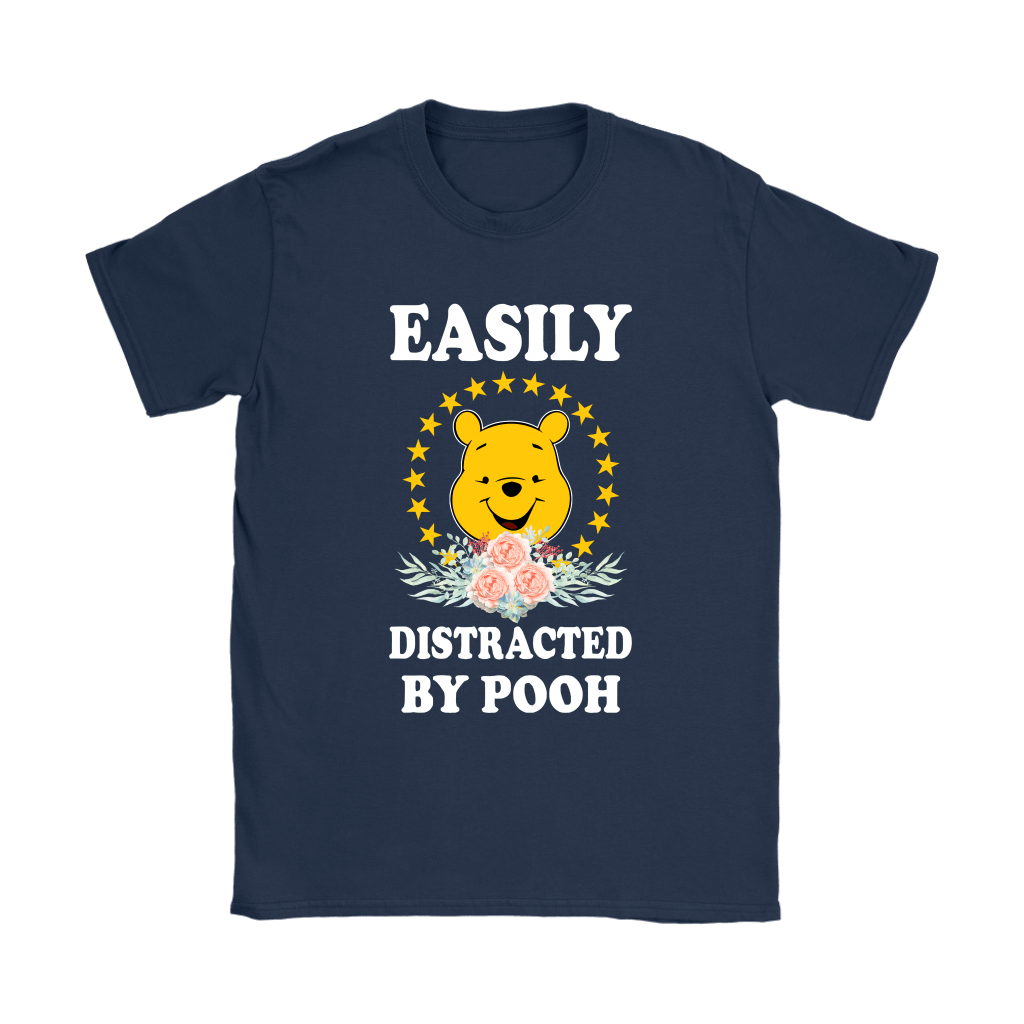 Easily Distracted By Winnie The Pooh Shirts 9