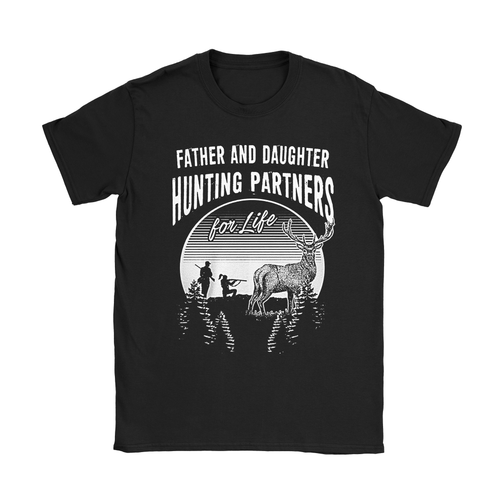 Father And Daughter Hunting Partners For Life Family Shirts 7