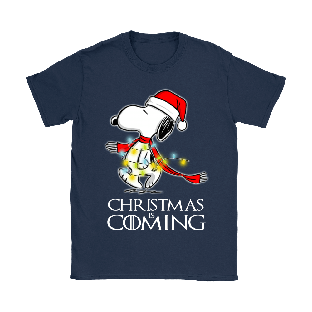 Game Of Thrones Christmas Is Coming Snoopy Shirts 10