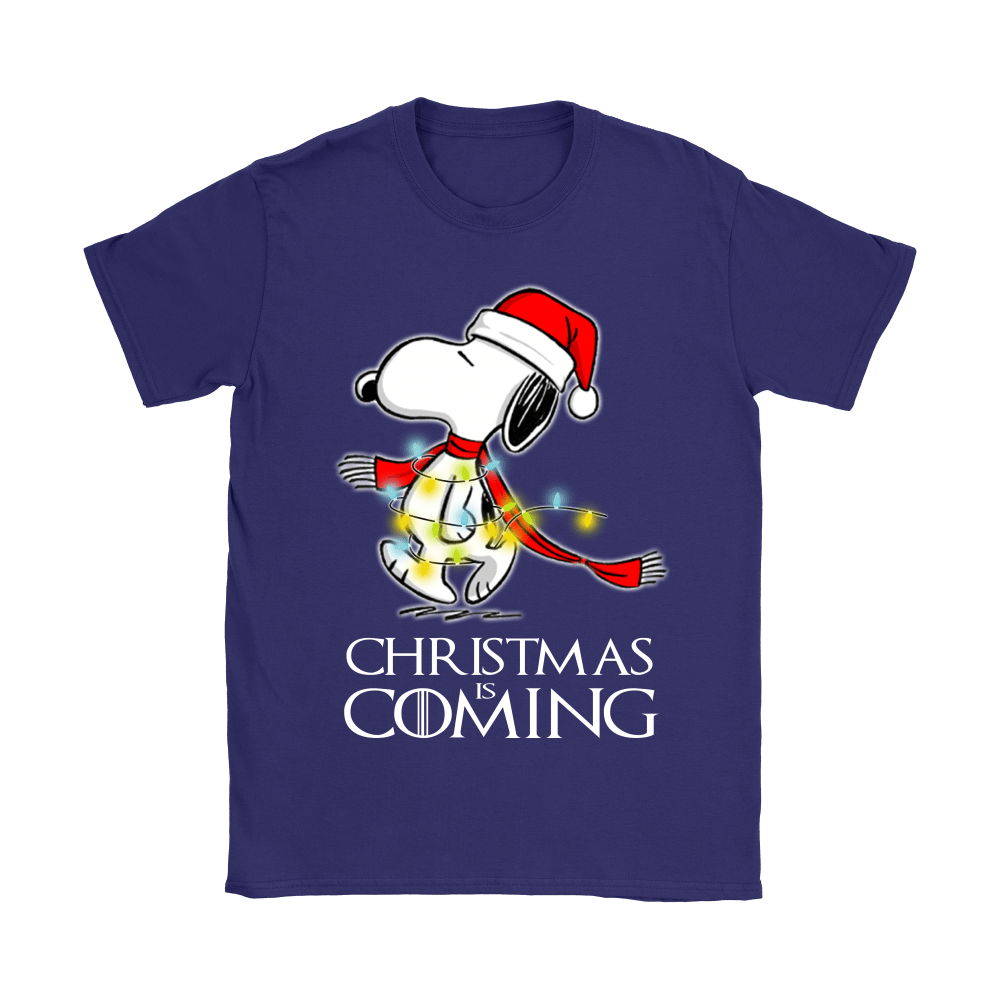 Game Of Thrones Christmas Is Coming Snoopy Shirts 11