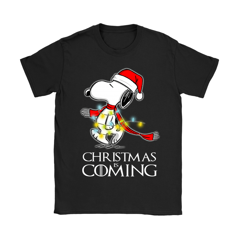 Game Of Thrones Christmas Is Coming Snoopy Shirts 7