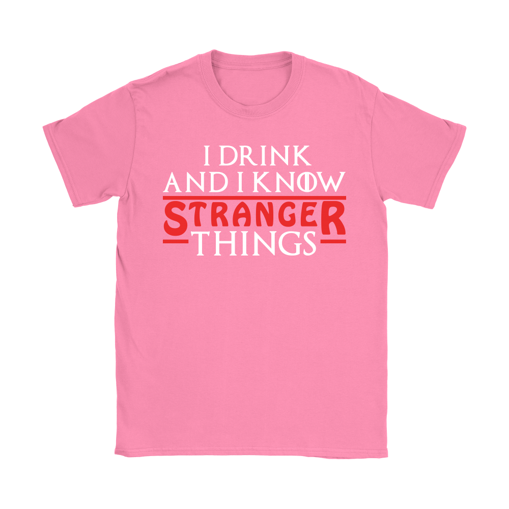 Game Of Thrones Mashup I Drink And I Know Stranger Things Shirts 8