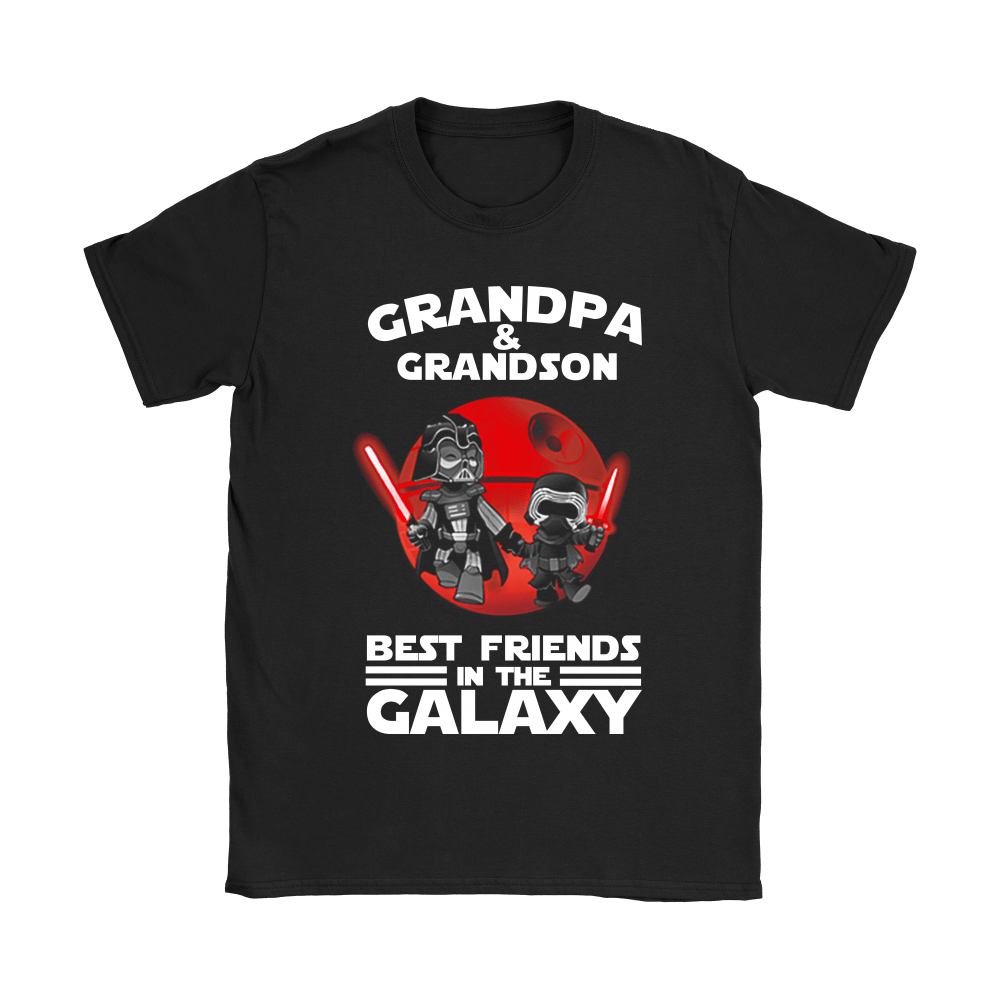Grandpa And Grandson Best Friends In The Galaxy Shirts 6