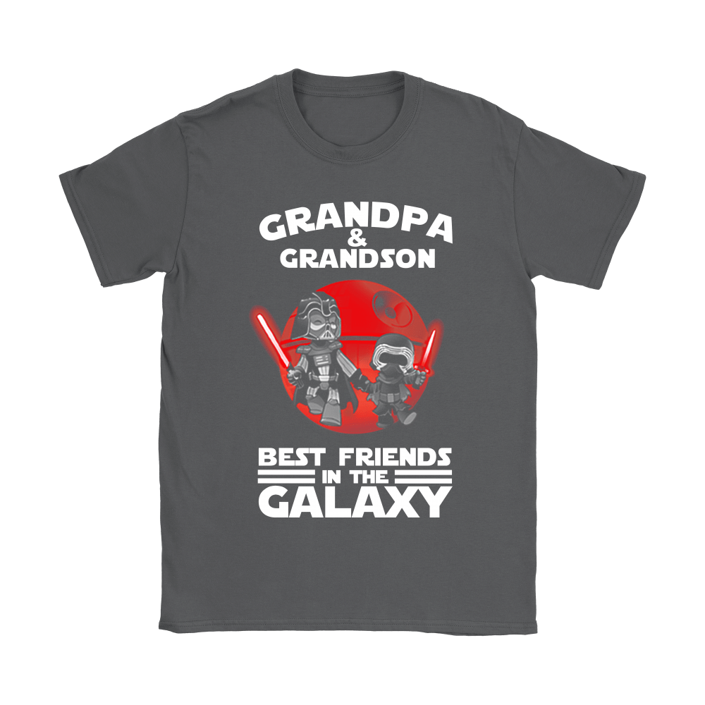 Grandpa And Grandson Best Friends In The Galaxy Shirts 7