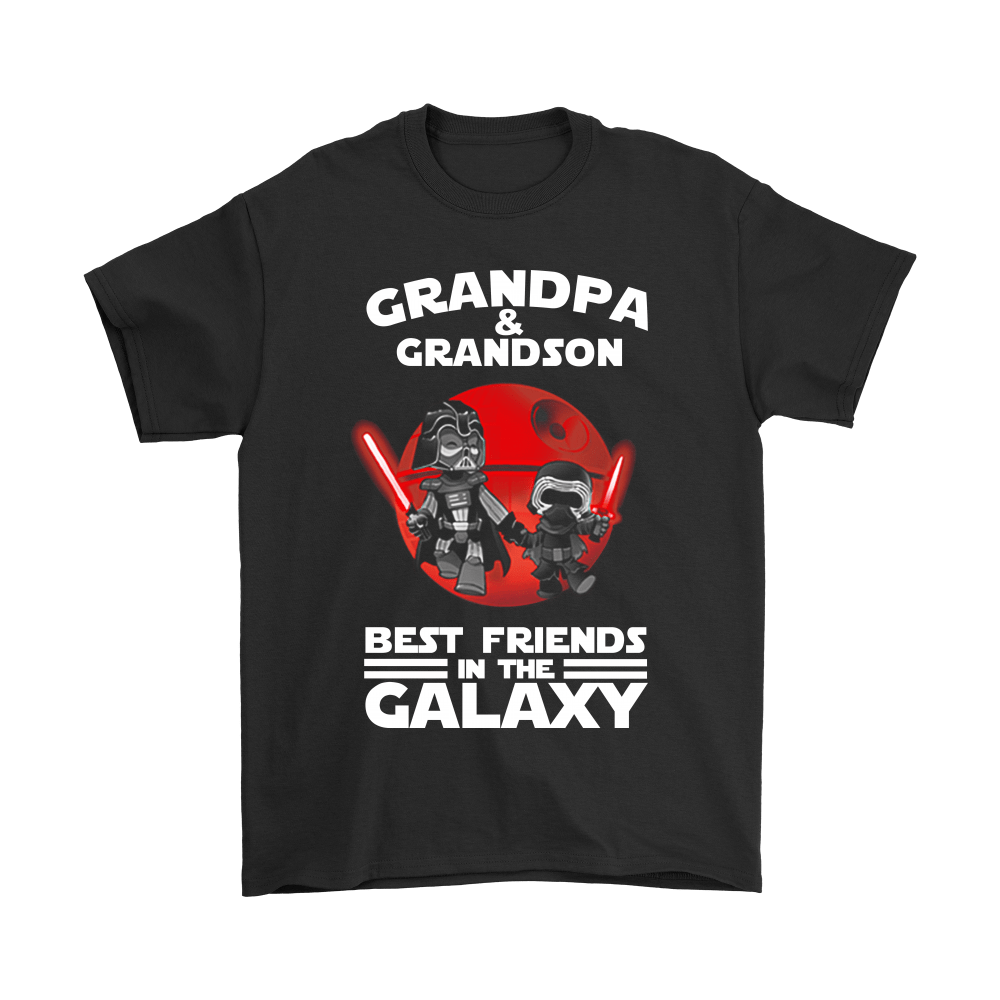 Grandpa And Grandson Best Friends In The Galaxy Shirts 1