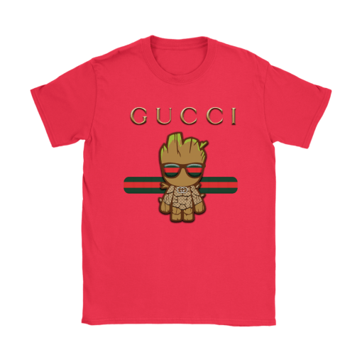 Gucci Guardians Of The Galaxy Baby Groot Shirts 12