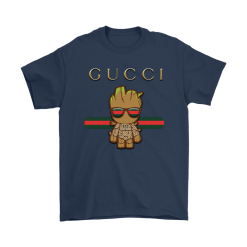 Gucci Guardians Of The Galaxy Baby Groot Shirts 16
