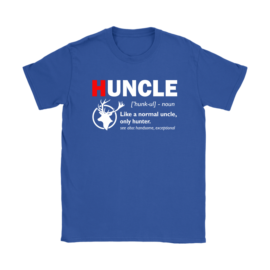 Huncle Like A Normal Uncle Only Hunter Definition Shirts 12