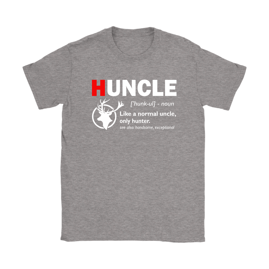 Huncle Like A Normal Uncle Only Hunter Definition Shirts 13