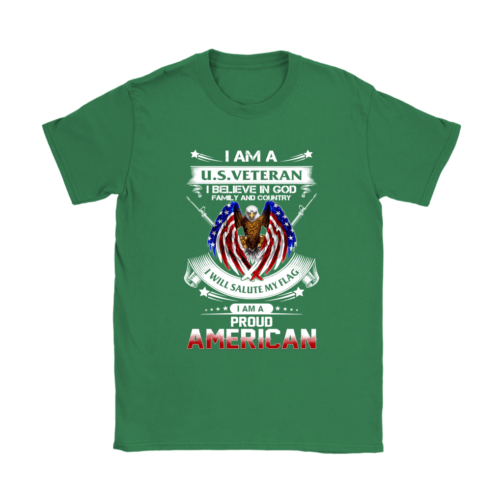 I Am A U.S. Veteran American I Believe In God Shirts 12