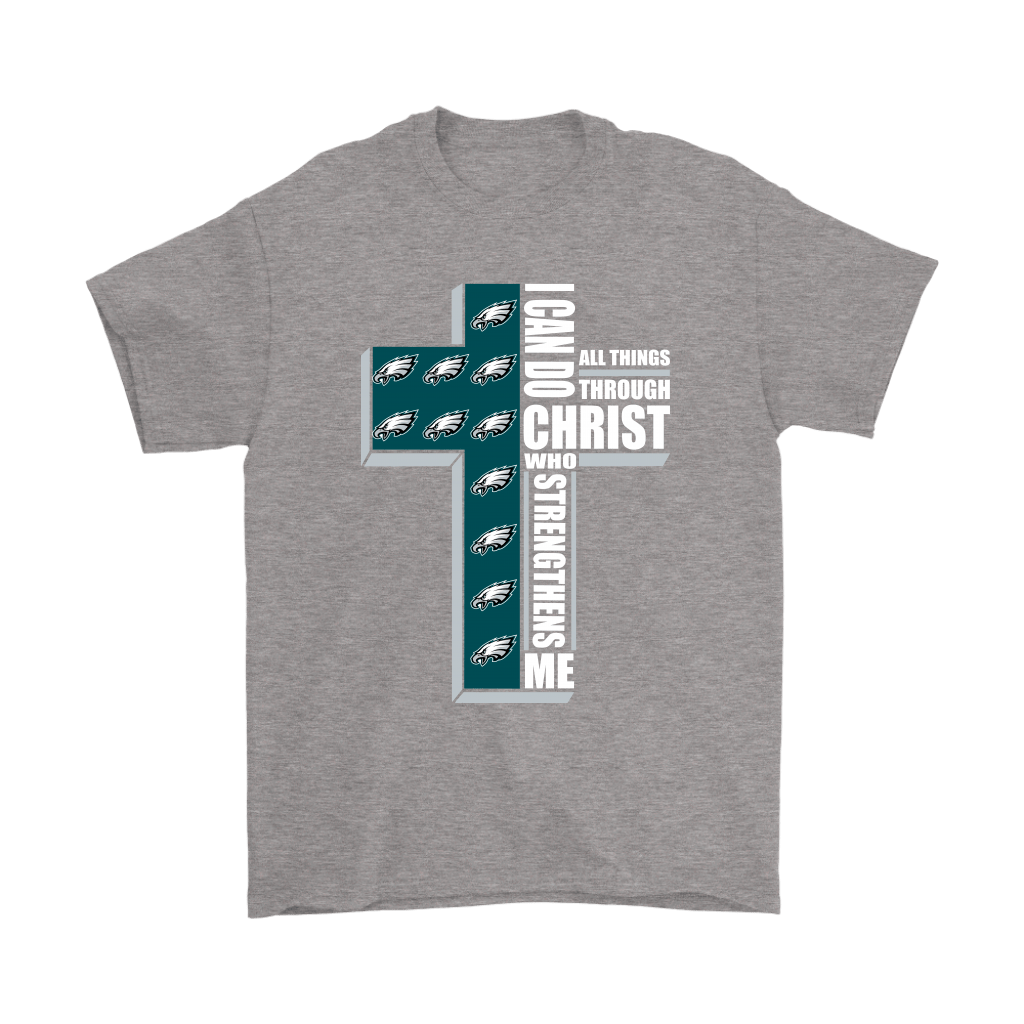 I Can Do All Things Through Christ Philadelphia Eagles Shirts 6