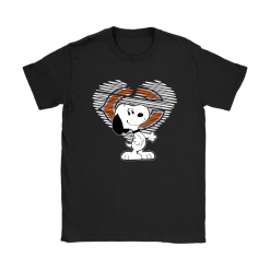 I Love Chicago Bears Snoopy In My Heart NFL Shirts 18