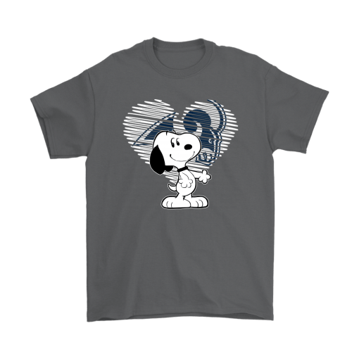 I Love Los Angeles Rams Snoopy In My Heart NFL Shirts 2