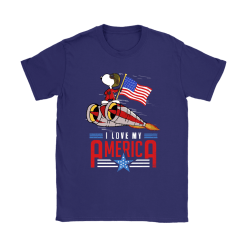 I Love My America Snoopy Independence Day 4th Of July Shirts 24