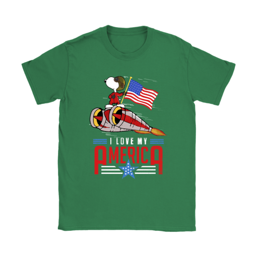 I Love My America Snoopy Independence Day 4th Of July Shirts 14
