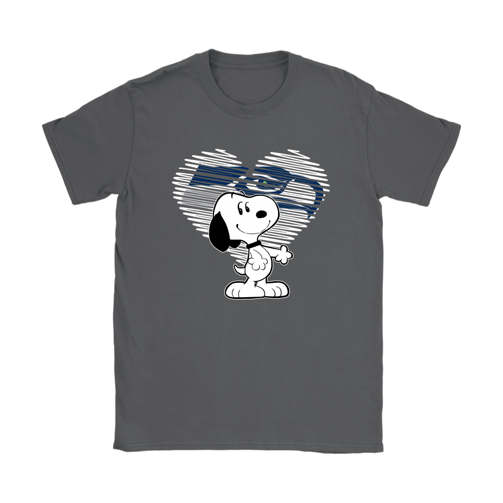 I Love Seattle Seahawks Snoopy In My Heart NFL Shirts 19