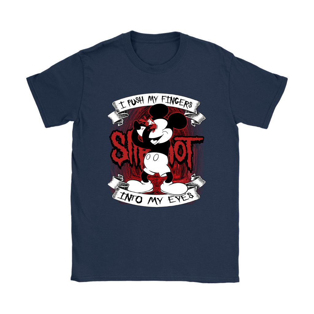 I Push My Fingers Into My Eyes Mickey x Slipknot Shirts 6