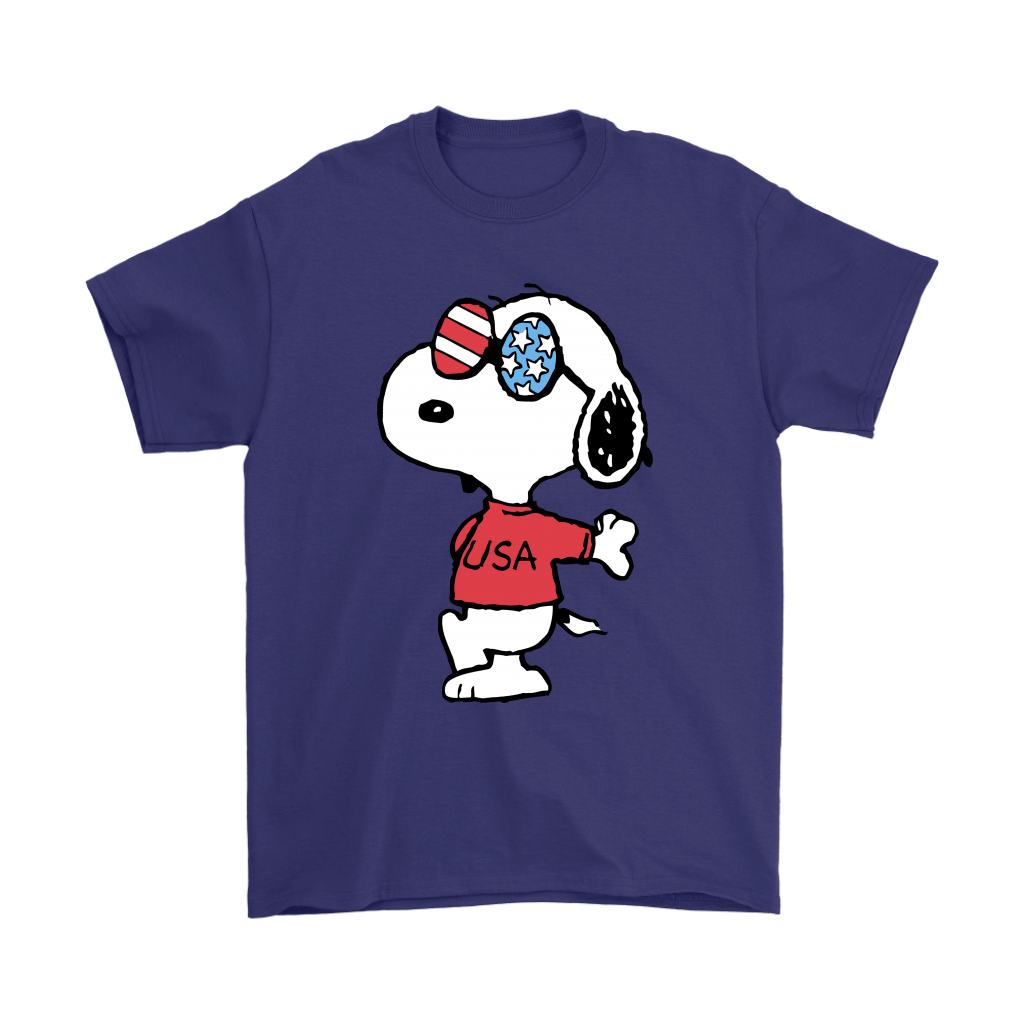 Joe Cool Independence Day 4th of July USA Snoopy Shirts 4