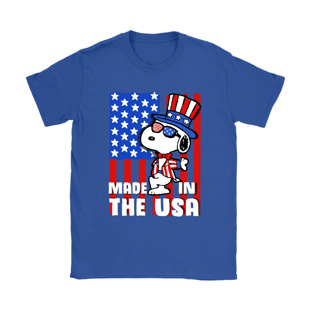 Joe Cool Made In The USA Independence Day 4th Of July Snoopy Shirts 11