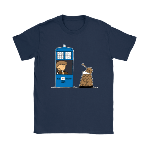 4th Doctor Is In Doctor Who Snoopy Shirts 10