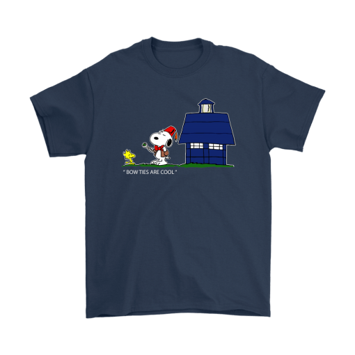Bowties Are Cool Snoopy Shirts 3
