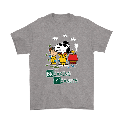 Breaking Cool Peanuts Mashup Snoopy Shirts 7