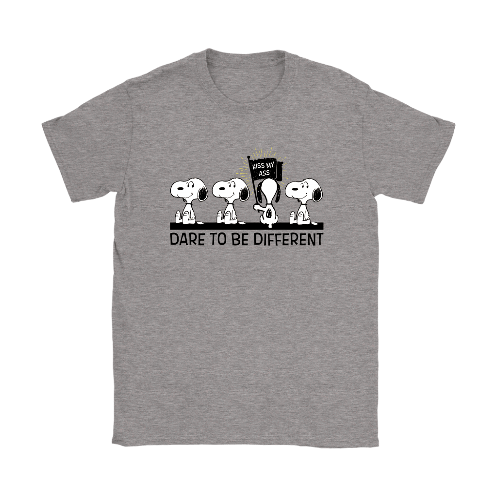 Dare To Be Different Kiss My Ass Snoopy Shirts 11