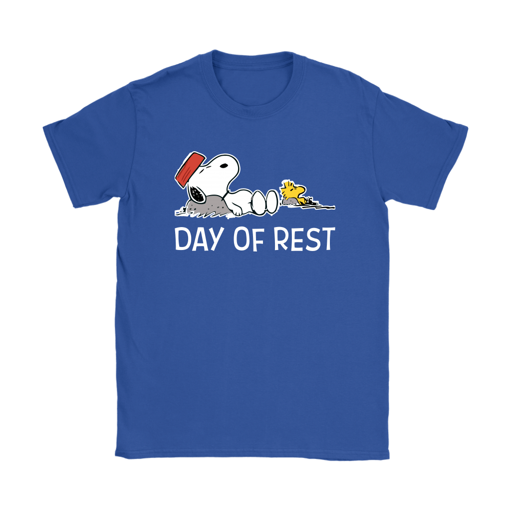 Day Of Rest Lazy Woodstock And Snoopy Shirts 12