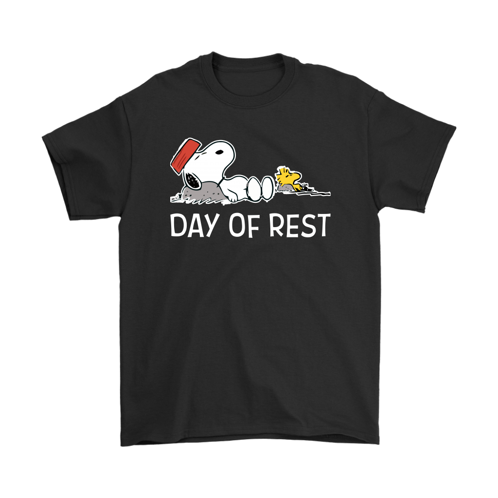 Day Of Rest Lazy Woodstock And Snoopy Shirts 1