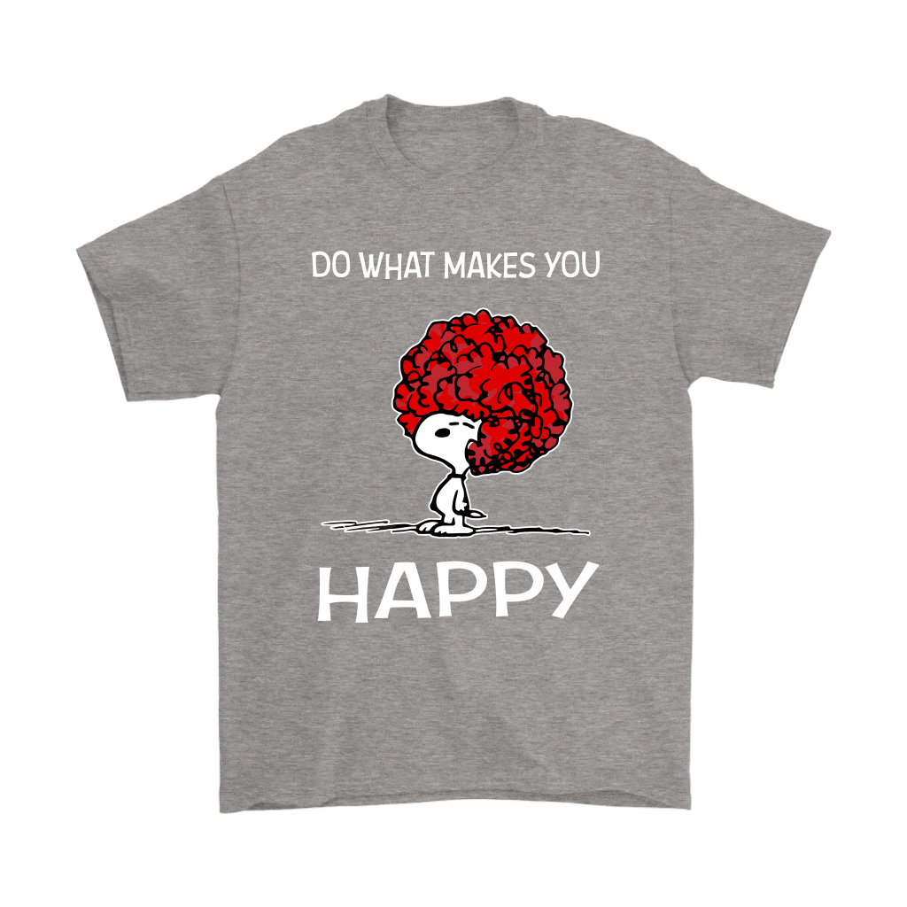 Do What Makes You Happy Snoopy Shirts 6