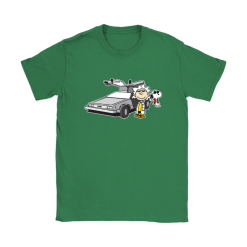 Doc Brown Back To Future Mashup Snoopy Shirts 27