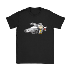 Doc Brown Back To Future Mashup Snoopy Shirts 21