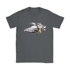 Doc Brown Back To Future Mashup Snoopy Shirts 22