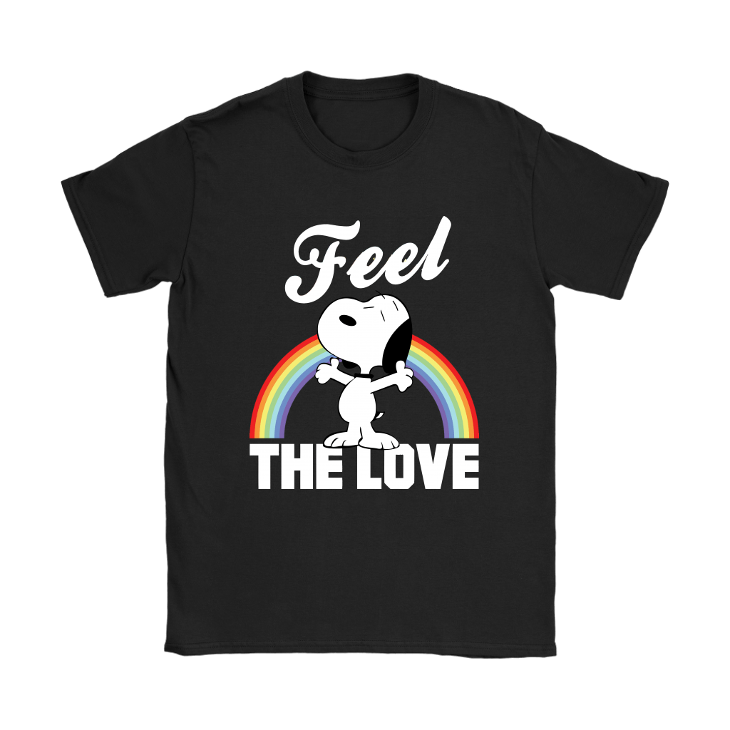Feel The Love Snoopy Shirts 8
