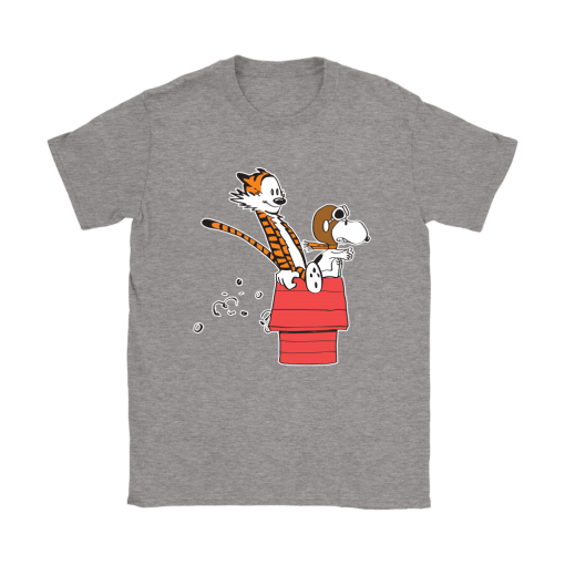 Flying Ace Hobbes And Snoopy Shirts 13
