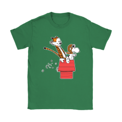 Flying Ace Hobbes And Snoopy Shirts 27