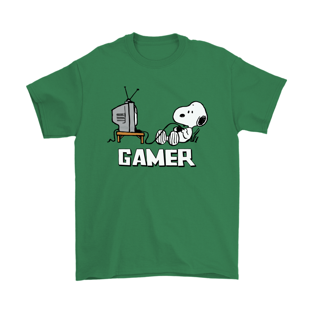 Gamer Life Snoopy Shirts 7