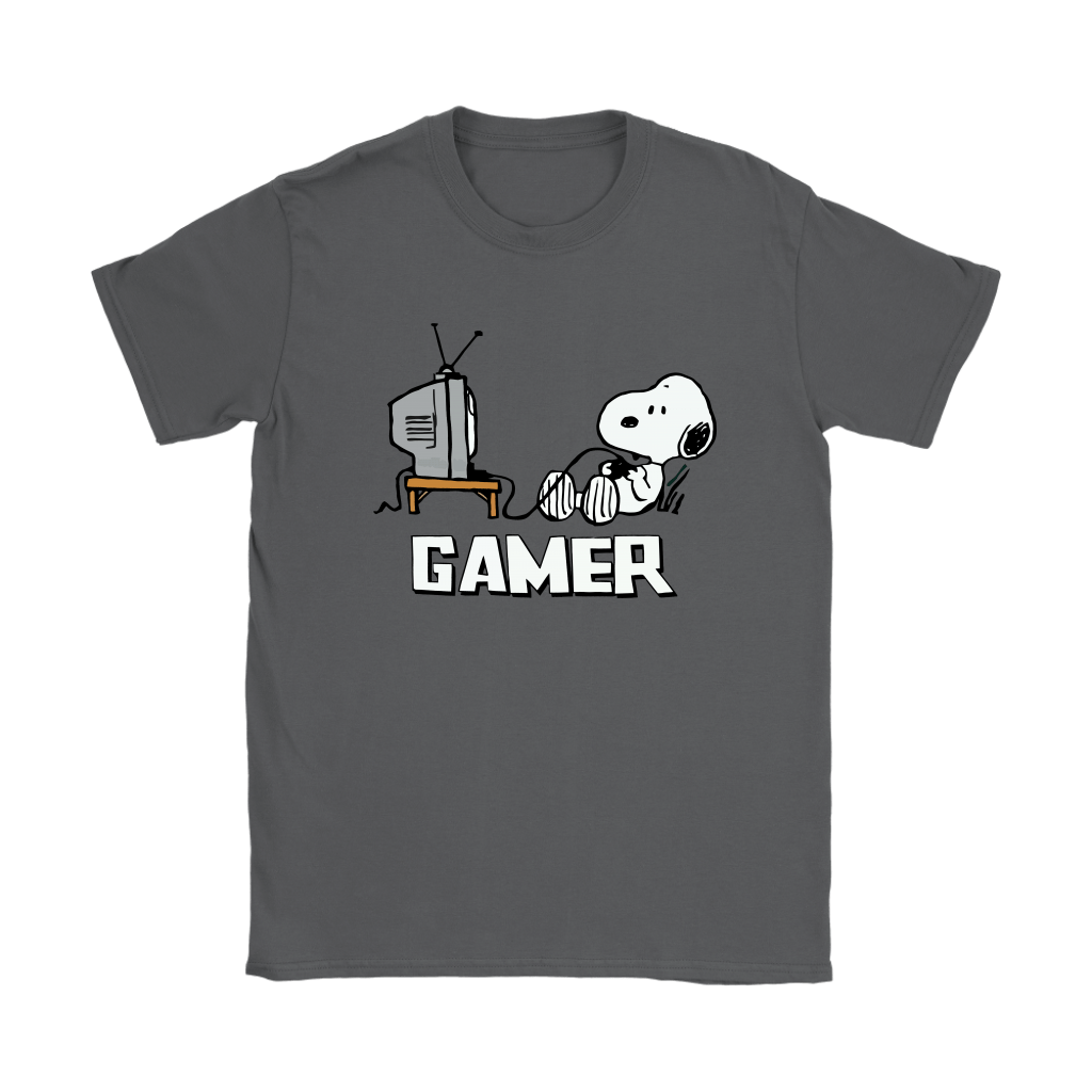 Gamer Life Snoopy Shirts 9