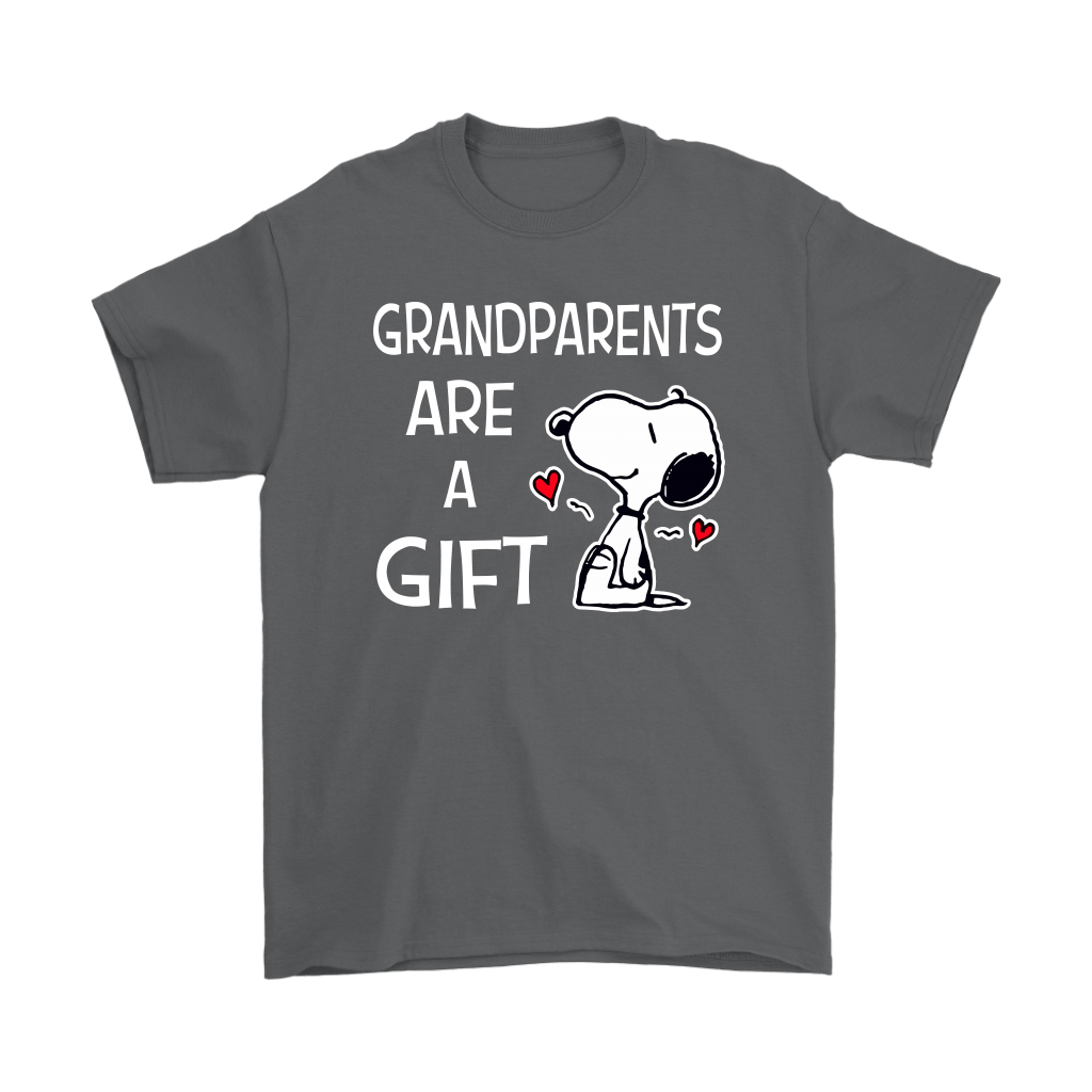 Grandparents Are A Gift Snoopy Shirts 2