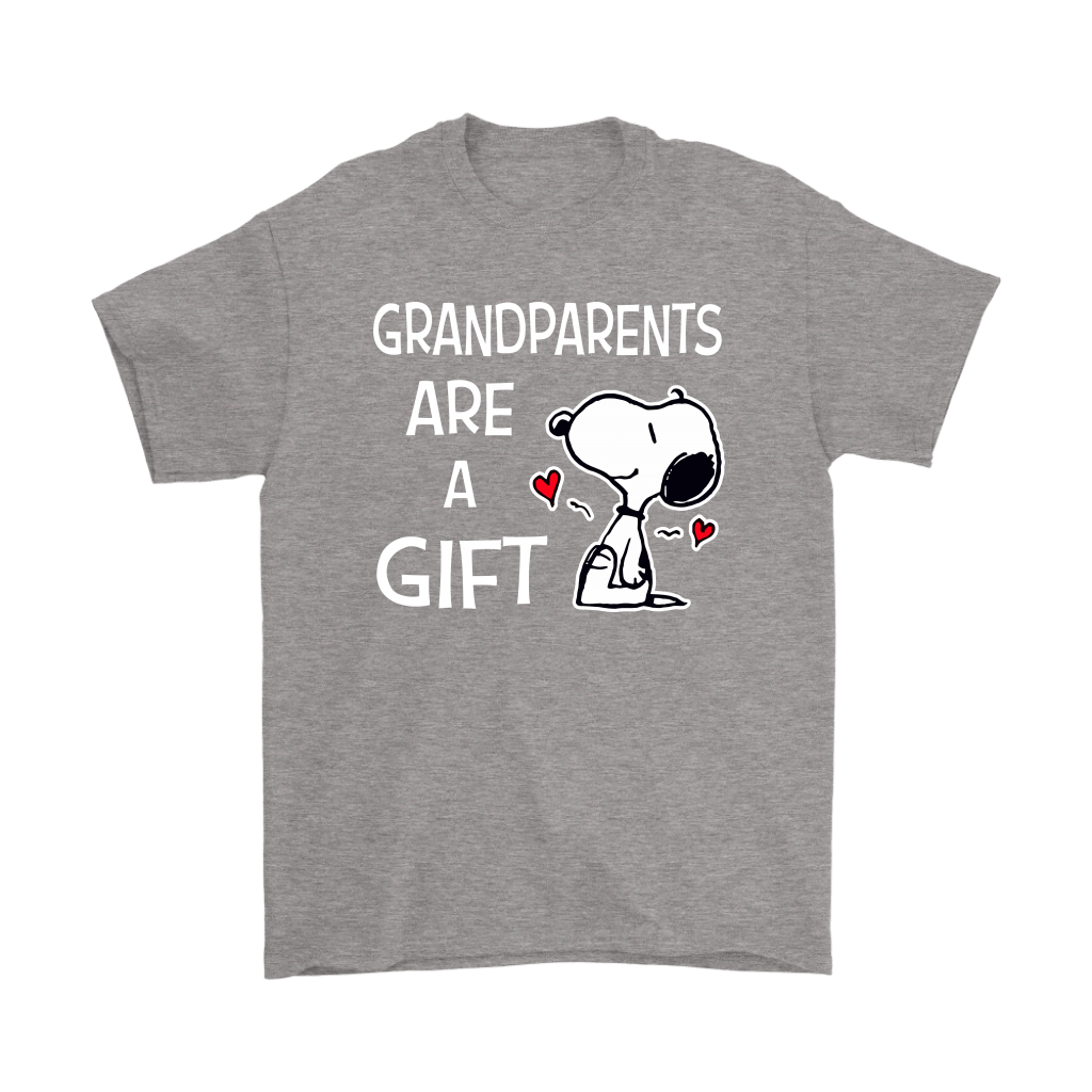 Grandparents Are A Gift Snoopy Shirts 6