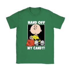Hand Off My Candy Trick Or Treat Halloween Charlie Brown Shirts 27
