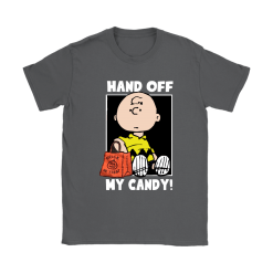 Hand Off My Candy Trick Or Treat Halloween Charlie Brown Shirts 22